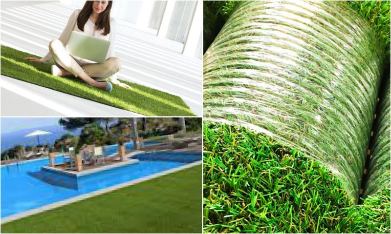 Suni Çim Halı ile Doğal Görünümlü Yeşil Alanlar Yaratabilirsiniz