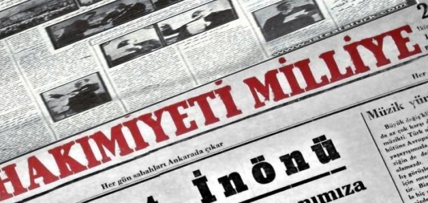 Anadolu'da İlk Defa Çıkan ve Milli Mücadeleyi Destekleyen Gazeteler