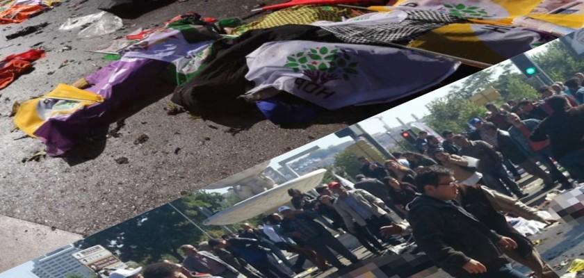 Ankara Garı'nda Meydana Gelen Patlamada Ölenlerin Sayısı 97'ye Yükseldi