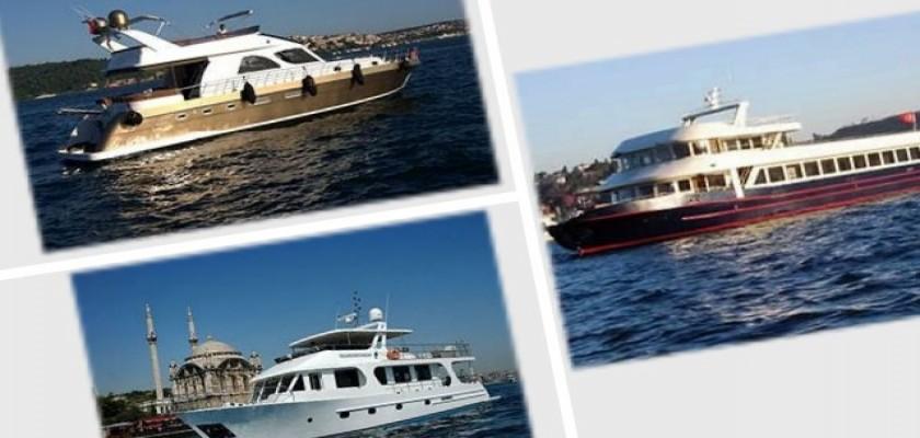 İstanbul Boğaz Turu Yat ve Tekne Kiralama Hizmetleri