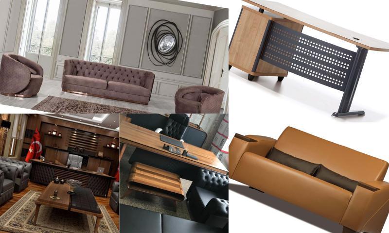 Büro Mobilyaları İle Dekorasyonu Yenileyin