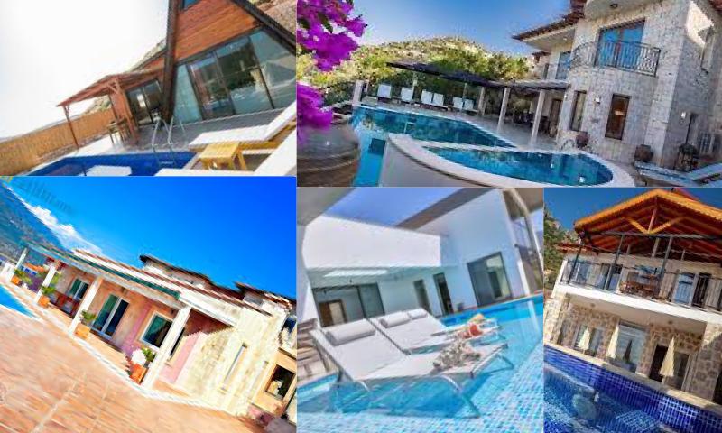Antalya'nın Tatil Cenneti Kaş Kiralık Villalar