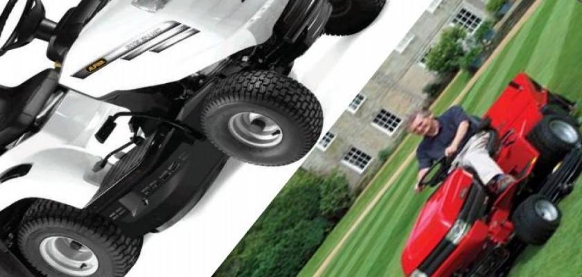 Yeni Çim Biçme Traktörleri Hem Ekonomik Hem Ergonomik